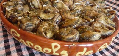 comercialización de caracoles